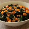 Thumbnail image for Kale Salad with Feta, Walnuts, Mandarin and Olives & Blood Orange Dressing