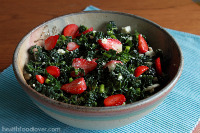 Thumbnail image for Strawberry, Kale and Goat's Feta Salad