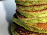 Thumbnail image for Recipe: Green Spinach Pancakes!
