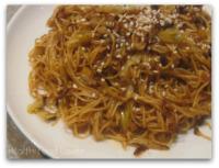 Thumbnail image for Sesame & Cabbage Soba Noodle Stir-Fry