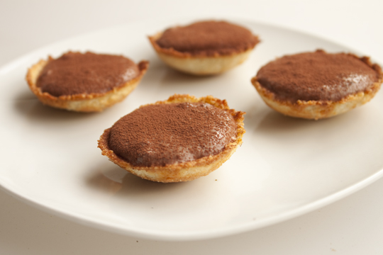 Recipe: Chocolate Coconut Fudge Mousse and Date Caramel ...