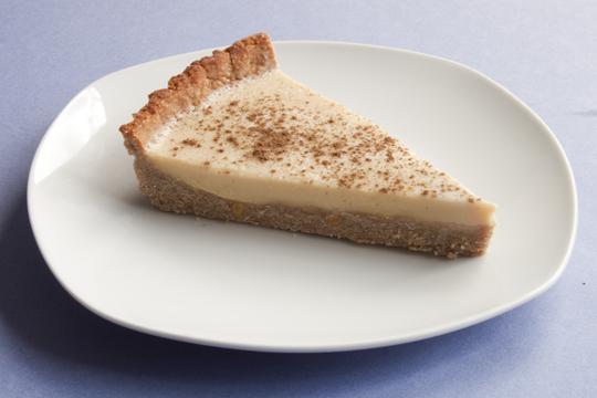 Recipe: Coconut Custard Tart {gluten-free, dairy-free)