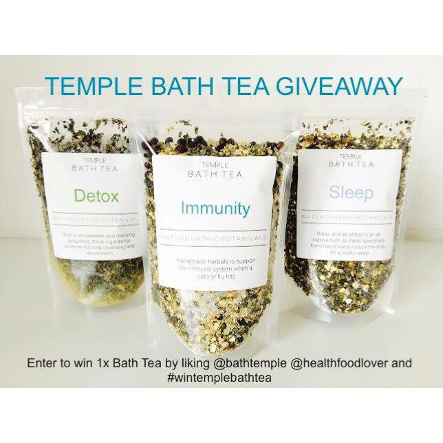 Win Temple Bath Tea
